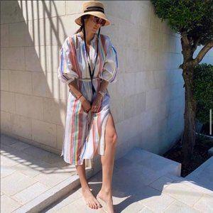 lemlem x H&M Lyocell Kaftan Dress Blogger Fave XL
